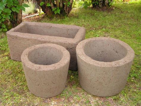 Hypertufa Planter by How To Make Pots From Hypertufa Gardening