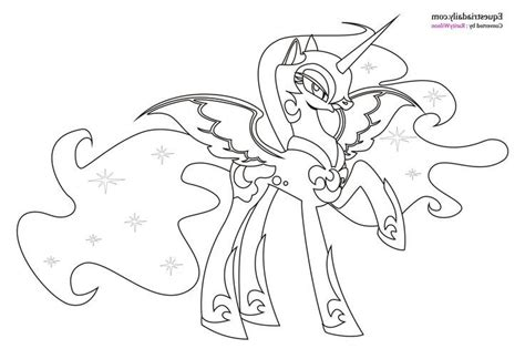 mlp coloring pages nightmare moon the most incredible beautiful my little pony coloring