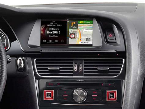 Hw K8 navigation system for audi a4 and a5 alpine x701d a4r
