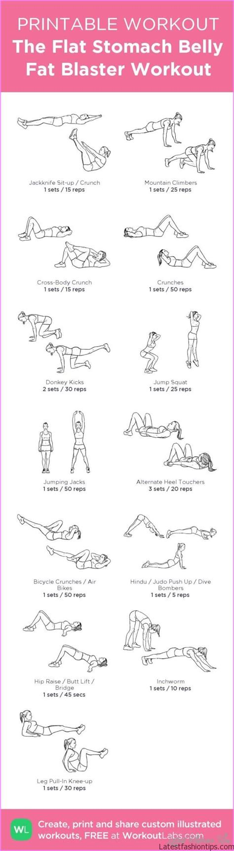 stomach exercises for weight loss latestfashiontips