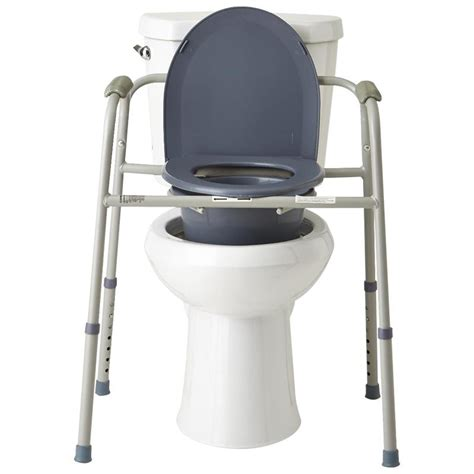 3 in 1 commode medline deluxe 3 in 1 steel bedside commode commodes