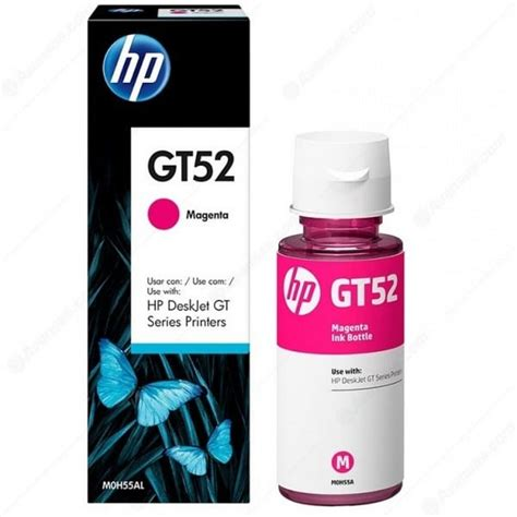 Hp Gt52 Magenta Original hp gt52 magenta ink bottle m0h55ae best value fast