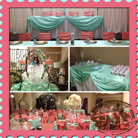 quinceanera themes ideas coral 71 best 2 yrs to plan her quincea 241 era images on pinterest