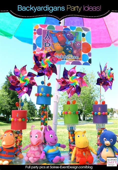 Backyardigans Birthday Character Week Backyardigans Decoration Ideas