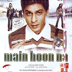 film india main hoon na buy main hoon na hindi songs bollywood film soundtrack