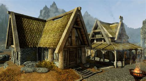 House In Whiterun by Whiterun Postcards From Skyrim