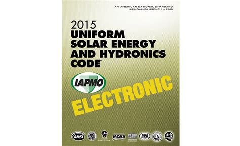 Iapmo Plumbing Code by Usehc Available In All Formats From Iapmo 2015 11 20
