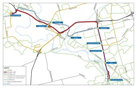 kitchener transit routes system rapid transit