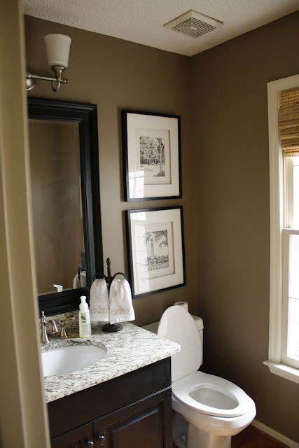 brown painted bathrooms best 20 brown bathroom ideas on pinterest