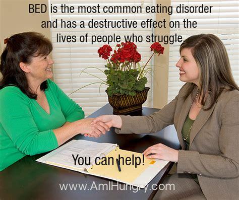 bed eating disorder save on binge eating disorder training during
