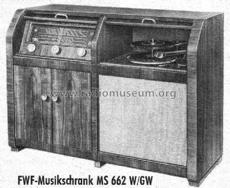 musik schrank musik schrank ms662gw radio fwf funktechnische werke f 252 ssen