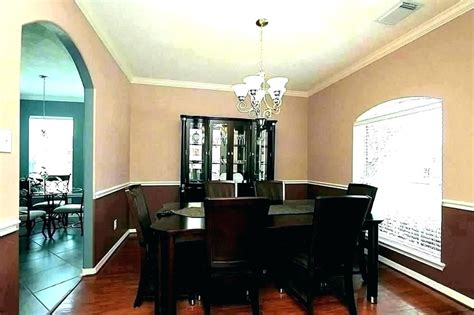 Two Tone Dining Room Paint Colors by Two Tone Dining Rooms Paint Ideas Living Room Painting