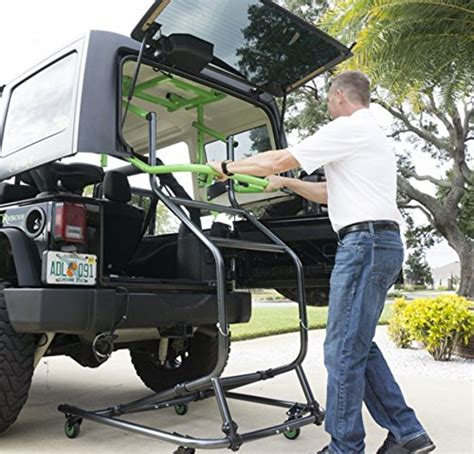 jeep hardtop removal toplift pros jeep hardtop remove and storage device come