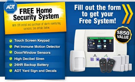 home security system sacramento free adt system