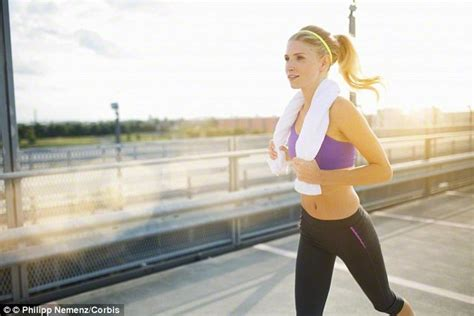 commercial girl running too much jogging is just as bad as doing none at all