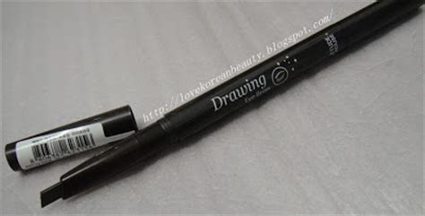 Etude Pensil Alis korean review etude house drawing eye brow 3
