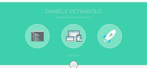 design inspiration web portfolio 50 inspirational creative personal portfolio websites