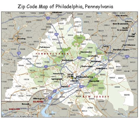 us area code pennsylvania zip code maps free color and printable