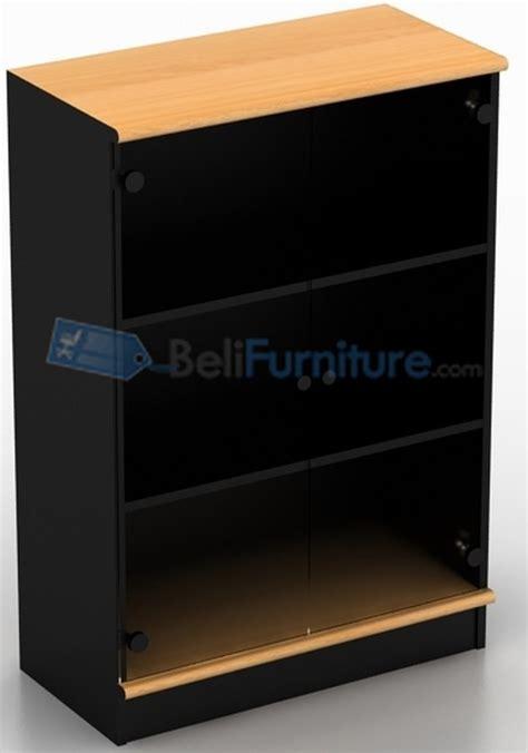 Rak Meja Dispenser Furniture Kayu Ramin 3 Tingkat Susun Murah uno classic lemari 3 rak pintu kaca afron tinggi 116 cm murah bergaransi dan lengkap
