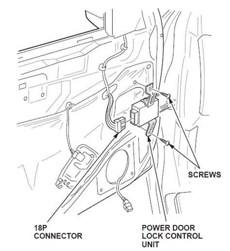 2008 honda civic power door lock unit honda crv power door lock module
