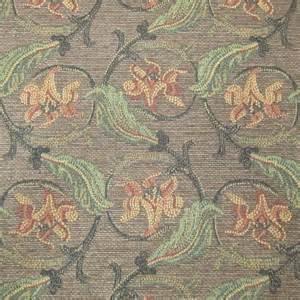 art nouveau upholstery fabric 12 yards soft seductive art nouveau lily chenille