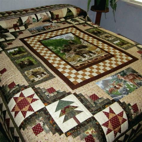Wildlife Quilt by Quilts 2013 Country Auction