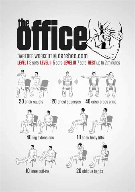Desk Chair Exercises by Workout Im B 252 Ro Sport 252 Bungen Im Sitzen Bilder Madame De