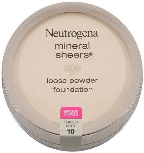 Product Review Neutrogena Mineral Sheers For by Neutrogena Mineral Sheers Powder Foundation
