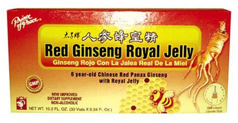 Royal Ginseng ginseng royal jelly 30x10cc prince of peace