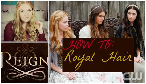 reign hair sparks and sequins how to cw tv reign signature hair