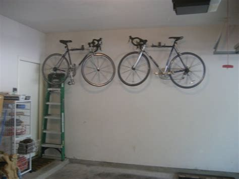 Storing Bikes In Garage by A Jones For Organizing Projects