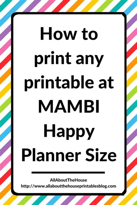 Template Happy Diy Cards Insert by How To Print Printables At Mambi Happy Planner Size Step