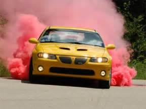 Colored Car Tire Smoke