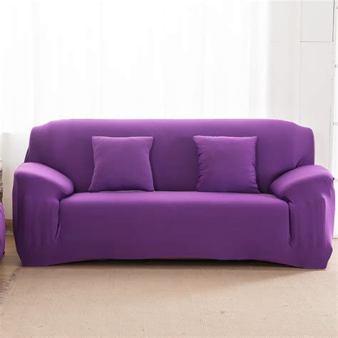sofa cover material solid color tight all inclusive sofa towel slipcover