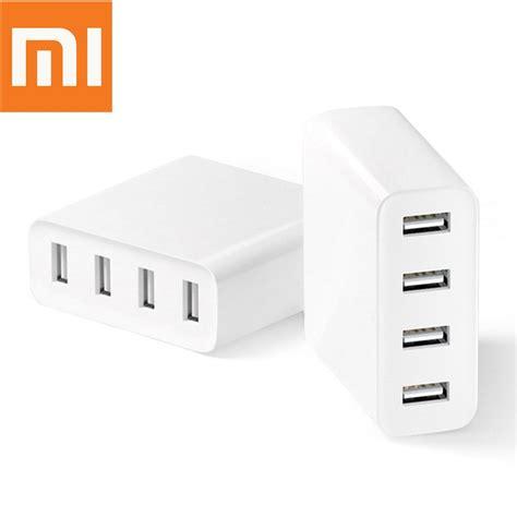 Xiaomi Charger Usb 2 Port 2a orignal xiaomi mi 4 ports usb charger