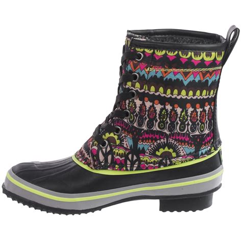rubber duck boots sakroots duet rubber duck boots for save 82