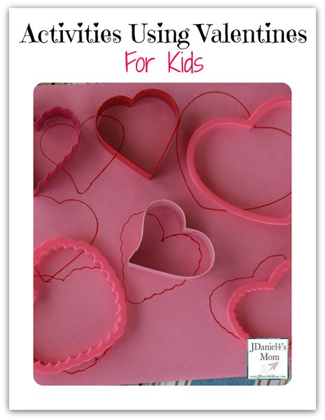 valentines activities for children activity with valentines for