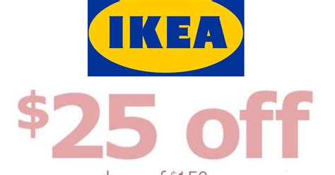 Ikea Sweepstakes 2017 - ikea coupon 25 off 150 or more purchase heavenly steals