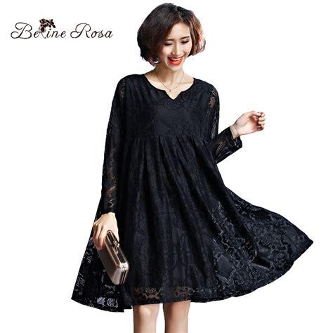Voerin Dress Lace Size S aliexpress buy belinerosa s lace dresses plus size clothing large sizes black