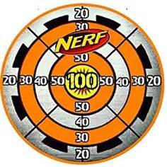 free printable nerf targets nerf logo birthday pinterest logos nerf party and