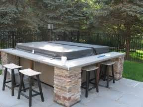 Patio Bars Near Me by Best 25 Outdoor Spa Ideas On Outdoor