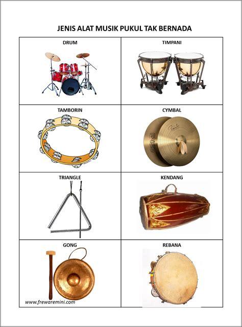 alat alat contoh alat musik ritmis tak bernada contoh z