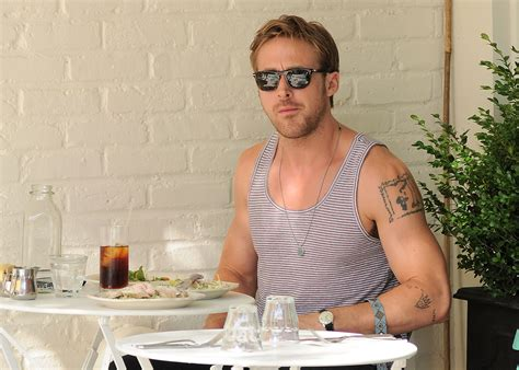 ryan gosling tattoo 20 of the sexiest guys who are inked up