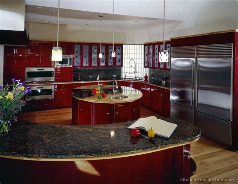 Cool Kitchen Designs Pictures Of Kitchens Modern Kitchen Cabinets