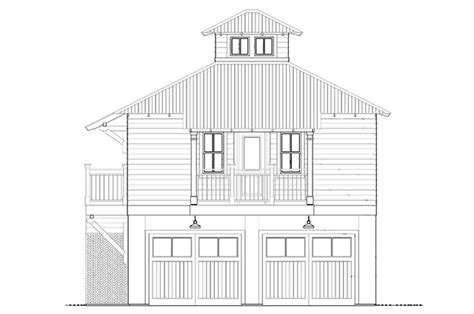 Bayou Bend Carriage House Southern Living House Plans Carriage House Plans Southern Living