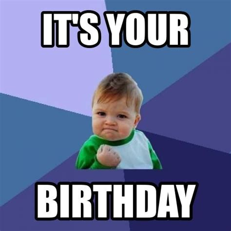 Birthday Boy Meme - success kid birthday meme birthday memes pinterest