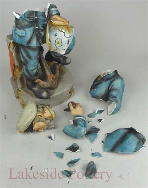 fix in porcelain how and where to repair and fix broken porcelain figurine