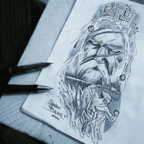 poseidon tattoo designs poseidon design poseidon poseidontattoo