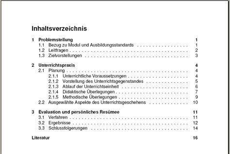 seminararbeit layout word inhaltsverzeichnis hausarbeit beste kauf f 252 r mich