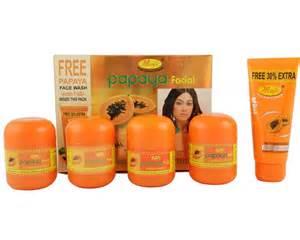 Shower Gel Bubble Bath natures essence papaya facial kit